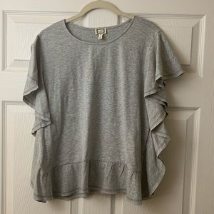 NWT Anthropologie Movint | Gray | Top